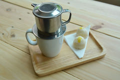 Vietnamese coffee Royalty Free Stock Image