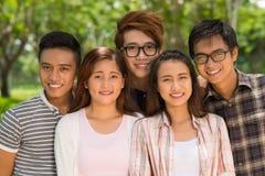 Vietnamese college students Stock Photo