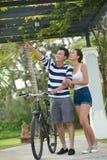 Vietnamese couple Stock Image