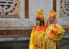 Vietnamese Couple Royalty Free Stock Images
