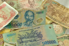 Vietnamese Currency Royalty Free Stock Photo