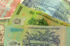 Vietnamese Currency Royalty Free Stock Photos