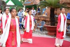 Vietnamese dance, Vietnam Royalty Free Stock Photo