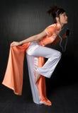 Vietnamese Dancer Stock Image