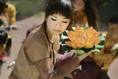 Vietnamese Dancer Stock Images