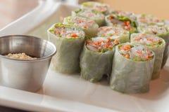 Vietnamese de lentebroodjes stock foto's