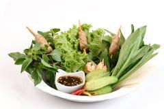 Vietnamese de zomerbroodje of Namnuang Royalty-vrije Stock Foto