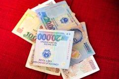 Vietnamese Dong Lizenzfreie Stockfotos
