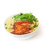 Vietnamese duck soup Stock Image