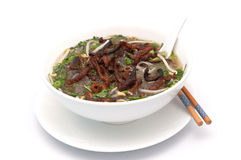 Vietnamese eel cassava vermicelli - Mien Luon Royalty Free Stock Photo