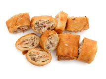 Vietnamese egg rolls Stock Images