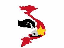 Vietnamese election Royalty Free Stock Photos