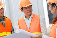 Vietnamese engineer Royalty Free Stock Photography