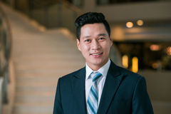 Vietnamese entrepreneur Royalty Free Stock Photography