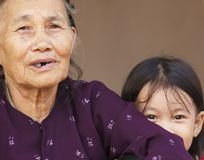 Vietnamese Family Stock Image