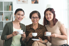 Vietnamese family Stock Photo