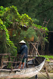 Vietnamese Fisherman, Vietnam Travel, People Stock Image