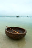 Vietnamese fishing basket Royalty Free Stock Image