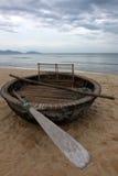 Vietnamese fishing boat Royalty Free Stock Photo