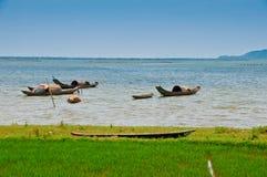 Vietnamese Fishing Boats Stock Photo