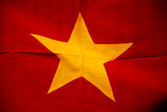 Vietnamese flag Royalty Free Stock Images