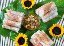 Vietnamese food, bo bia Stock Photography