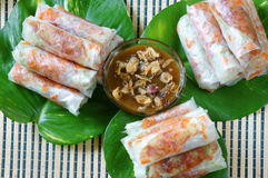 Vietnamese food, bo bia Stock Photo