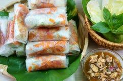 Vietnamese food, bo bia Royalty Free Stock Photos