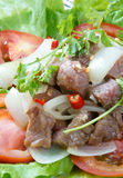 Vietnamese food, bo luc lac, beef Stock Images