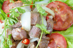 Vietnamese food, bo luc lac, beef Royalty Free Stock Photography