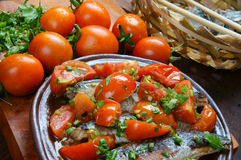 Vietnamese food, braised fish Stock Photography