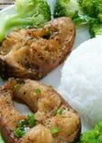 Vietnamese food, ca kho to, fish, sauce, caramel fish Stock Photos