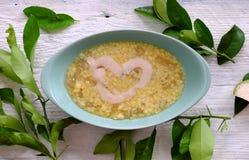 Grapefruit sweet gruel, Vietnamese sweet soup Stock Images