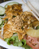 Vietnamese food ga sate chicken Stock Image