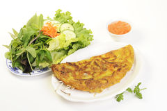 Vietnamese food isolated on white Stock Photos