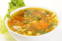 Vietnamese food isolated on white Royalty Free Stock Photos