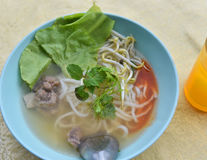 Vietnamese food noodle soup Royalty Free Stock Photos
