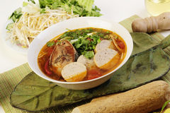Vietnamese food noodles Royalty Free Stock Image