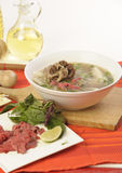 Vietnamese food pho Stock Images