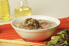 Vietnamese food pho royalty free stock photography