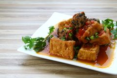 Vietnamese Food. Photo of a dish of freshly made vietnamese food Royalty Free Stock Images