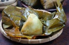 Vietnamese food,  pyramid rice dumpling Stock Images