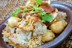 Vietnamese food, savory xoi Royalty Free Stock Images