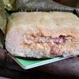 Vietnamese food,Tet, banh chung, traditional food Stock Photo