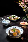 Vietnamese food for Tet holiday in spring, it is traditional food on lunar new year royalty free stock photos