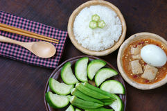 Vietnamese food, vegetarian, diet menu Stock Images