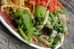 Vietnamese food, vegetarian eating Royalty Free Stock Images