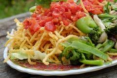 Vietnamese food, vegetarian eating Stock Photo