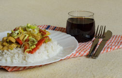 Vietnamese food  view Royalty Free Stock Photography