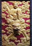 Vietnamese fresco royalty free stock photo